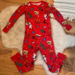 Cat & Jack Girls Christmas Pajamas Sz 8